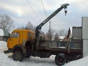 КАМАЗ-53212 с гидроманипулятором UNIC