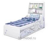 КРОВАТЬ ЛЕДИ-3 С ИЗГОЛОВЬЕМ (Сканд)+Доставка и подъем по Екатеринбургу бесплатно