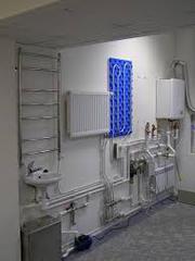 Монтаж водоснабжения,  отопления и канализации