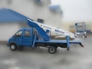 Вышка автомобильная. 18 метра. Телескоп. На шасси ГАЗ-33106. (Валдай).