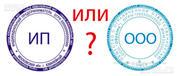 Регистрация ООО или ИП Бесплатно*
