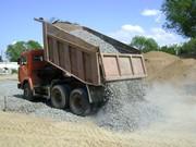 Доставка сыпучих грузов по Екатеринбургу щебень