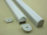 Алюминиевый Профиль для LED ленты А-1506  D-001  (с экраном)