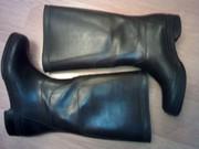 Сапоги резиновые с высоким голенищем,  цвет черный
