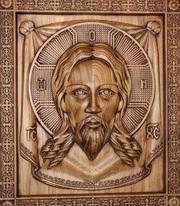 Деревянная икона