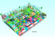 Аттракцион Детская игровая комната с лабиринтом №8