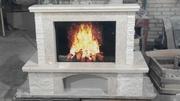 Каминный портал из мрамора Фиора