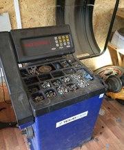 Шиномонтажное оборудование  б/у (комплект для работы шиномонтажа)