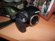 Фотоаппарат Nikon D3300 с объективами и штативом