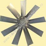 Крыльчатка осевого вентилятора алюминиевая