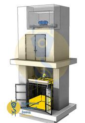 Грузовой подъёмник в шахте – альтернатива грузовому лифту