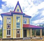 Проектирование домов,  коттеджей и бань