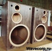 Производство корпусов АС,  акустических систем,  усилителей.
