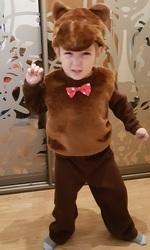 Новогодний костюм СобакиМедведя