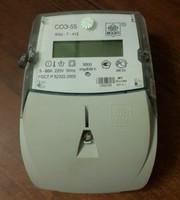 Счетчик электроэнергии соэ-55/60 Ш-Т-412
