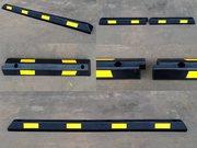 Колесоотбойники металлические и резиновые для парковки