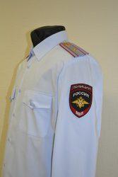 Рубашка форменная повседневная (форма МВД)