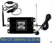 Автомобильный усилитель сигнала сотовой связи 900 mhz + 1800 mhz + 2, 3