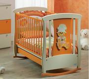 Описание: детские кроватки для новорожденных.